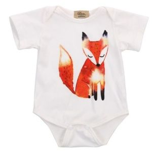 Other - Fox onesie 12 mo. Woodlands collection